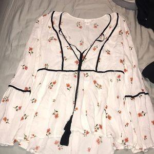 Lauren Conrad long sleeve shirt